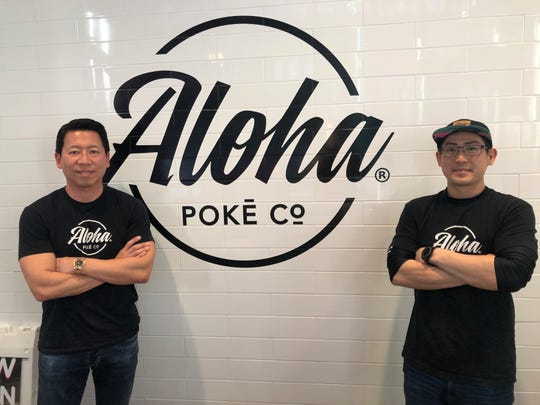 Co-owner Thomas Wang and manager Dan Wu of Aloha Poke Co. will open a new restaurant in Wauwatosa.