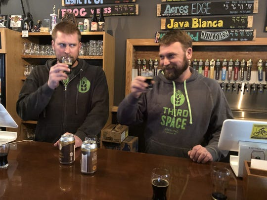 Third Space Brewing offers Mystic Knot, a bourbon barrel-aged stout made with coffee.