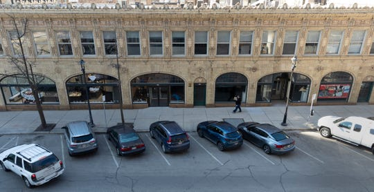 Part of a downtown Milwaukee block that includes the former Watts Tea Shop would be a historic district under a proposal recommended for approval Monday.