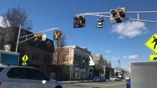 The pedestrian hybrid beacon hanging on Flagler Street and Speedwell Avenue in Morristown is on hiatus.