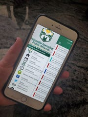 Montville Township schools announce a new app for smartphones that features school news, calendar listings and sports schedules.