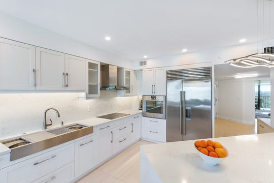 AFTER: London Bay Renovation was recognized with a top Sand Dollar Award for Best Whole House Remodel of a private residence in Miromar Lakes Beach & Golf Club.