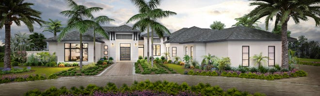 Seagate Development Group announced its furnished Streamsong grand estate model at Quail West is on schedule for completion in April.
