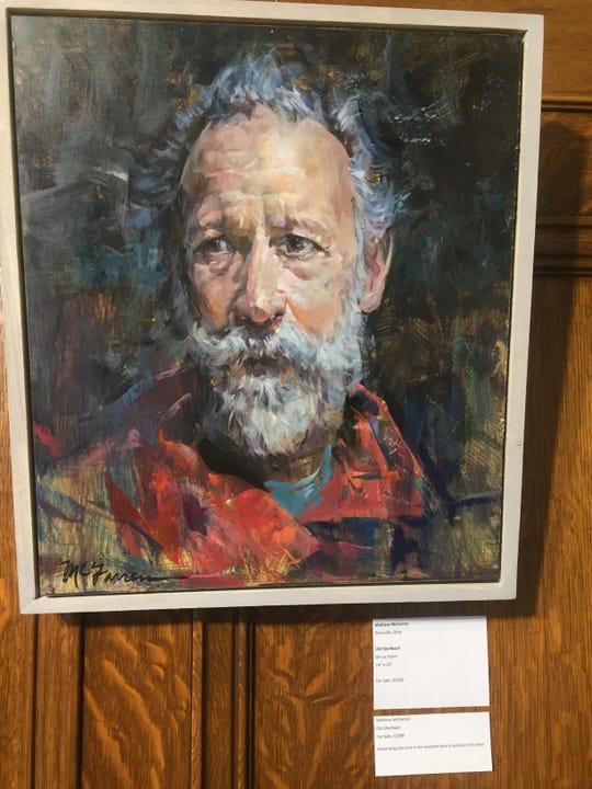 """""""Old Shellback,"""" by Granville's Mathew McFarren."""
