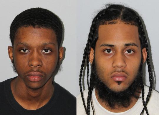 Dante Barker, 21, of East Orange; and Xavier Gibbs, 21, of East Orange.
