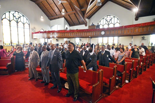 Christ Temple Baptist Church in Paterson held a special memorial service for the family of JaQuill Fields, as well as for those affected in the shootings in Charleston, S.C. last week.