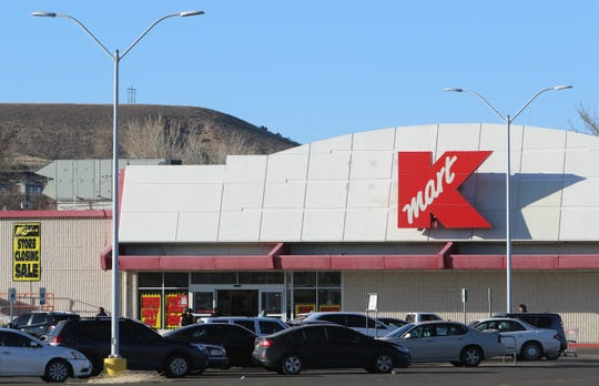 Shoppers visit Kmart at 3000 E. Main St. in Farmington on Feb. 3. The store is expected to close this spring.