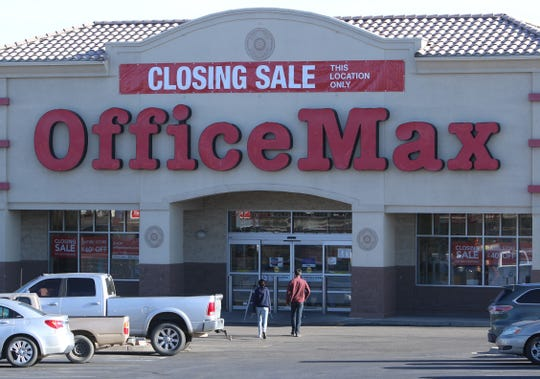 OfficeMax at 4901 E. Main St., Suite A in Farmington is scheduled to close on April 18.
