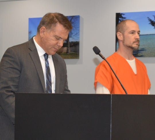 Daren William Muns, 39, of Milford Township appeared in Novi District Court on Wednesday, March 4, 2020.