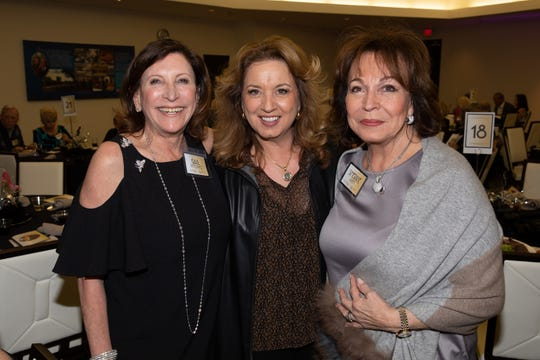Gail Borowitz, Catharine Reed and Sherrie Auen were among the attendees.