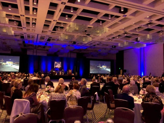 More than 400 guests attended the gala at the Hyatt Regency Indian Wells on Thursday, Feb. 27, 2020.