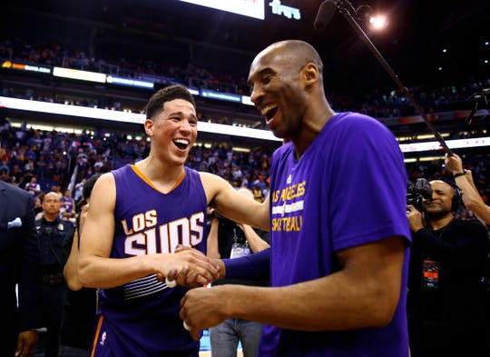 Kobe Bryant had a huge influence on Devin Booker.