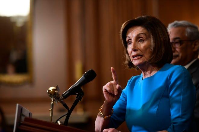 Nancy Pelosi, líder de la mayoría demócrata de la Cámara de Representantes.