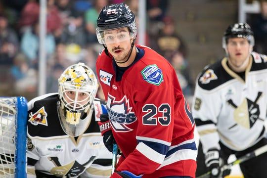 The Port Huron Yeti selected Kalamazoo K-Wings player Garret Ross in the National Roller Hockey League draft on Saturday, Feb. 29.