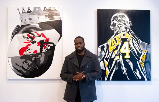 Shamar Mosley works in the York City School District by day and is a dedicated artist by night.