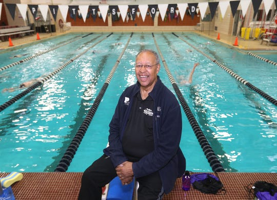 Marty Keating grew up in Harlem, but has been a fixture on the Rochester swimming scene for more than 50 years.