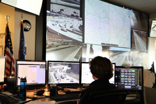 A look inside the Wisconsin Department of Transportation's Traffic Management Center.