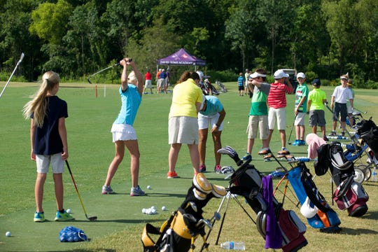 265: The David Toms Academy has helped grow the game of golf by often opening its facility to youngsters.