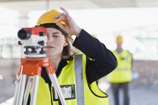 Female construction workers are being honored through Women in Construction Week, a national event.