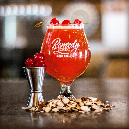 Amaretto Sour for Remedy Brewing Co.