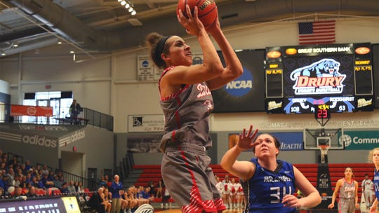 Drury forward Hailey Diestelkamp was named the GLVC Player of the Year on Wednesday