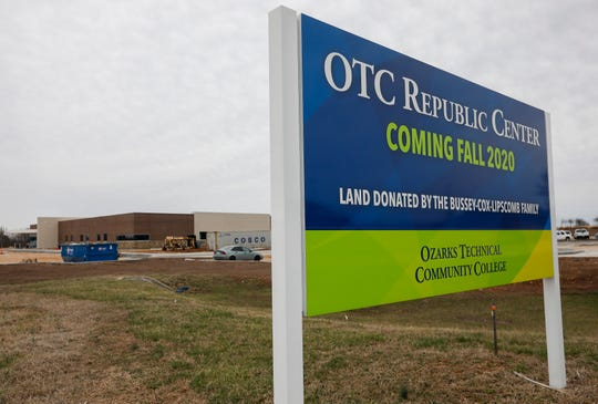 The Ozarks Technical Community College's new center in Republic is located at 584 West US Highway 60.