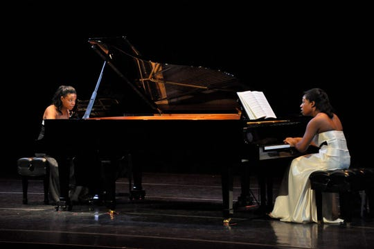 The Artist Series brings the Cann Duo to town for a performance at 4 p.m. Sunday in Opperman Music Hall.