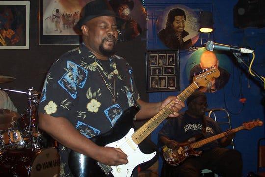 Johnnie Marshall is a regular at the Bradfordville Blues Club.