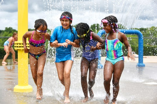 Scenes from the YMCA of Greenville's summer day camps