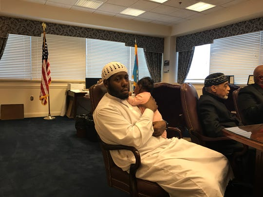 Malik Gordon will bury one of his daughters at The Muslim Cemetery of Delaware near Port Penn.