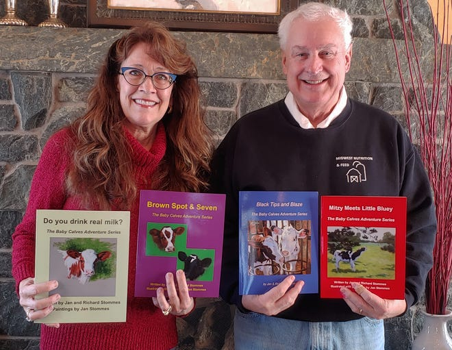 Alarmed by the increasing amount of misinformation about the dairy industry, Rich and Jan Stommes teamed up to create a series of children's books to bring awareness to the care that farmers give to their animals who create a wholesome product for consumers.