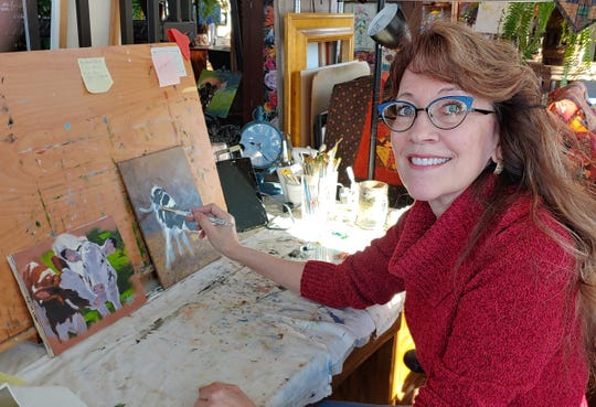 Trained as a research scientist in animal science, Jan Stommes uses her academic background and self-taught artistic skills to help illustrate and edit the series of books she penned with husband, Rich.