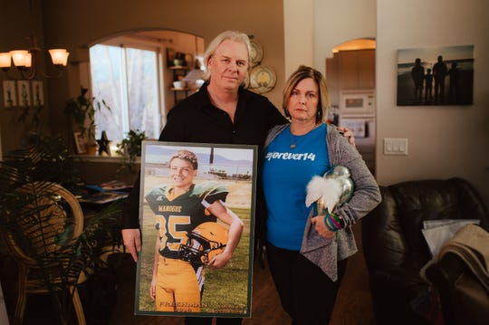 The parents of Alec and Caleb are moving past blame into action. Caleb's parents created Forever14.org, a theybsite dedicated to promoting conversation and human connection in order to prevent teen suicide.