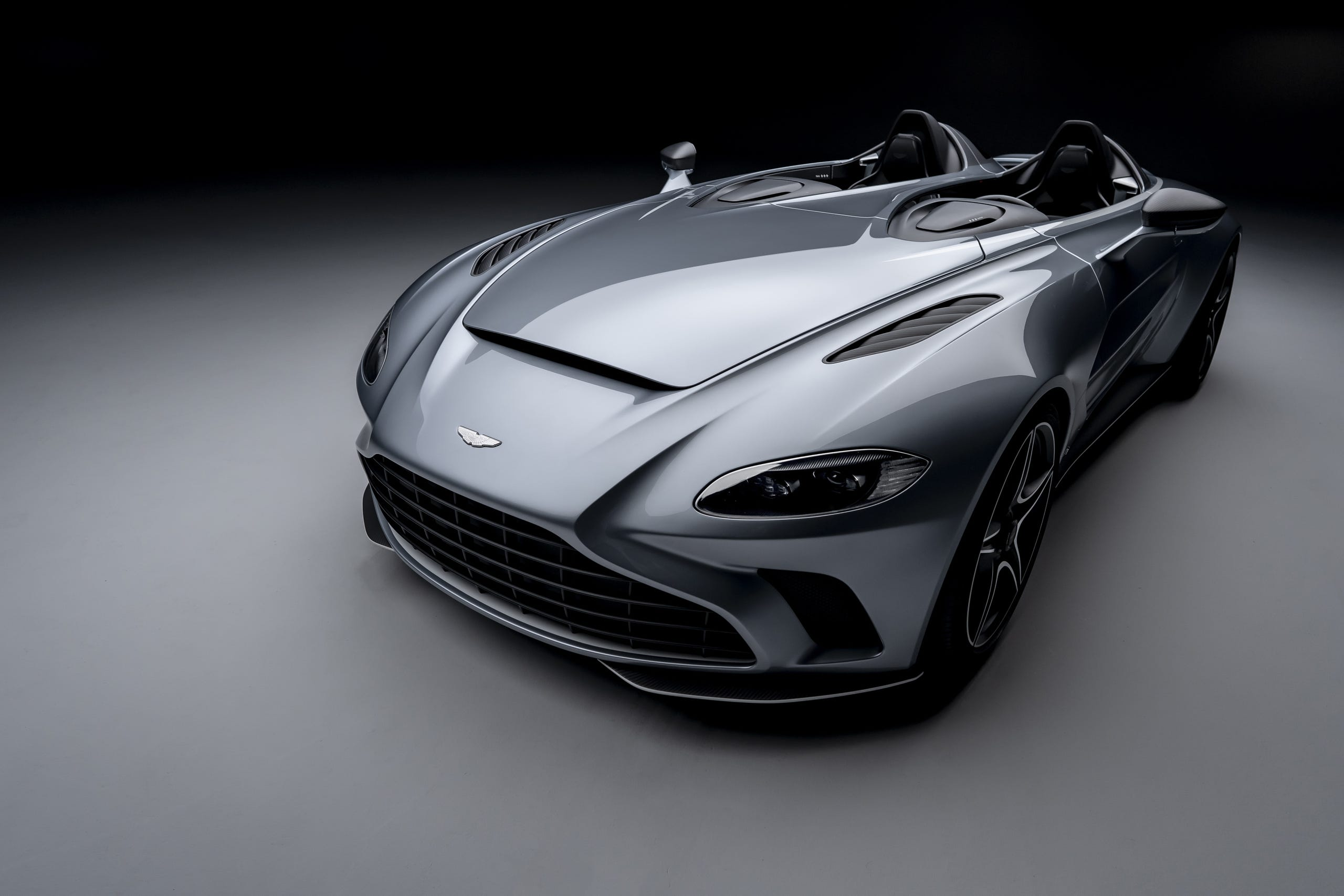 Aston Martin V12 Speedster A Fighter Jet Supercar Without Windshields