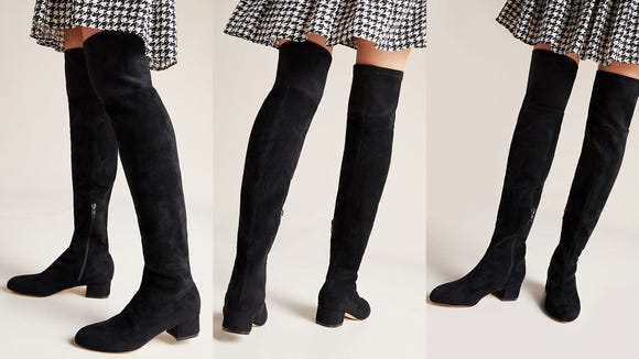 These over-the-knee boots are a dream.
