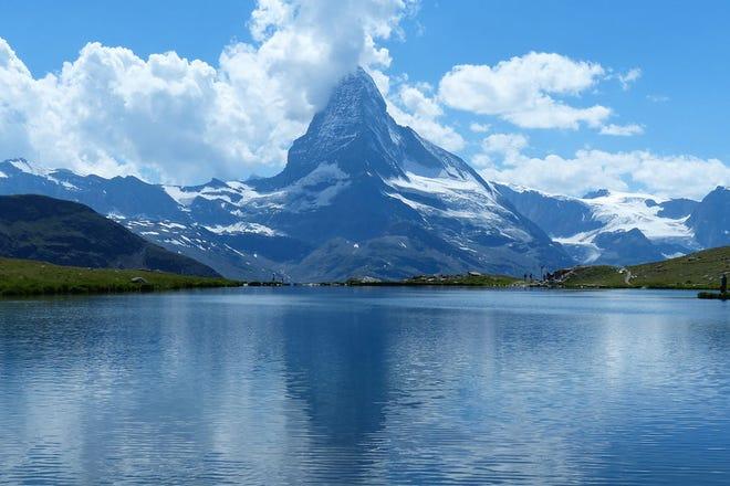 Switzerland's famed Matterhorn mountain.