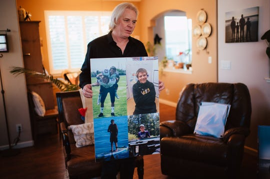 At age 14, Caleb Stenvold was a high school freshman in the gifted and talented program. He ran track and played defensive cornerback on his school's football team. Just two months into high school ― and ftheir months after Alec's suicide — Caleb killed himself.