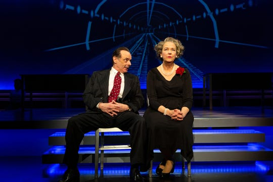 "Lee Sellars and Harriet Harris star in ""Conscience"" at George Street Playhouse."