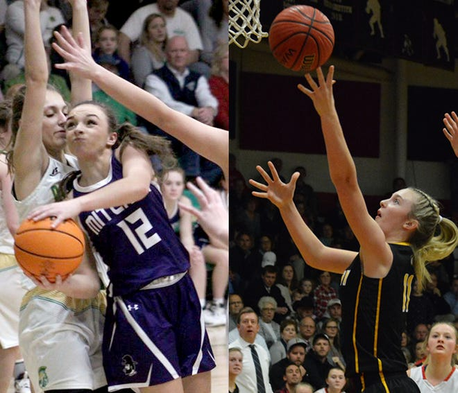 Mitchell and Murphy will face one another in the regional round of the NCHSAA 1A girls basketball tournament.