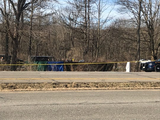 New York State Police discovered the body of a woman between Route 17 and Route 434 in Apalachin Thursday, March 5, 2020.
