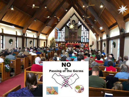 Churches may wish to alter some worship practices in an effort to lower the risk of virus transmission.