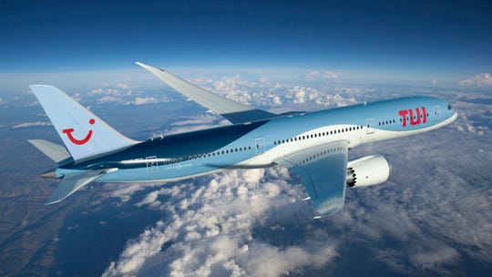 A TUI Boeing 787 Dreamliner.
