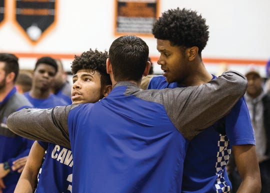 Chillicothe lost to Pickerington North in a district semifinal on Wednesday. The Cavs now say goodbye to a senior class that has been a part of three straight Frontier Athletic Conference championships. The class includes Tre Beard (pictured on left), Jayvon Maughmer (pictured on right), Brandon Noel, Vincent Roper, Courtland Duncan, and Lucas Crawford.