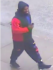 Cincinnati police are looking for a man they say approached a 13-year-old-girl as she exited a Metro bus at Walnut Street and Central Parkway Feb. 25.
