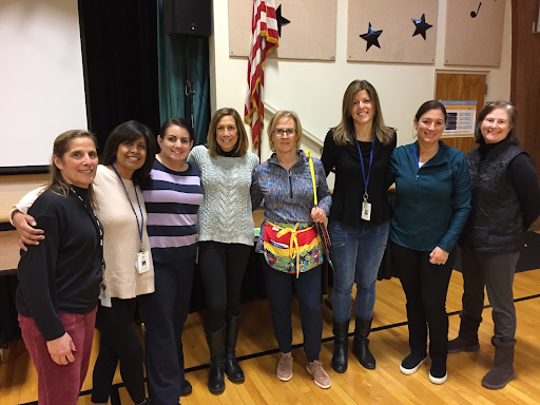 The preschool paraprofessionals include  Mary Russo, Silvia Gebala, Natalie Caterisano, Shelly Stupay,  Leslie Mupo, Lisa Pravato, Maryanne DuBois and  Kathlynn Kogler.