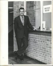 Don Canham in this undated photo. Canham was the athletic director for the University of Michigan.
