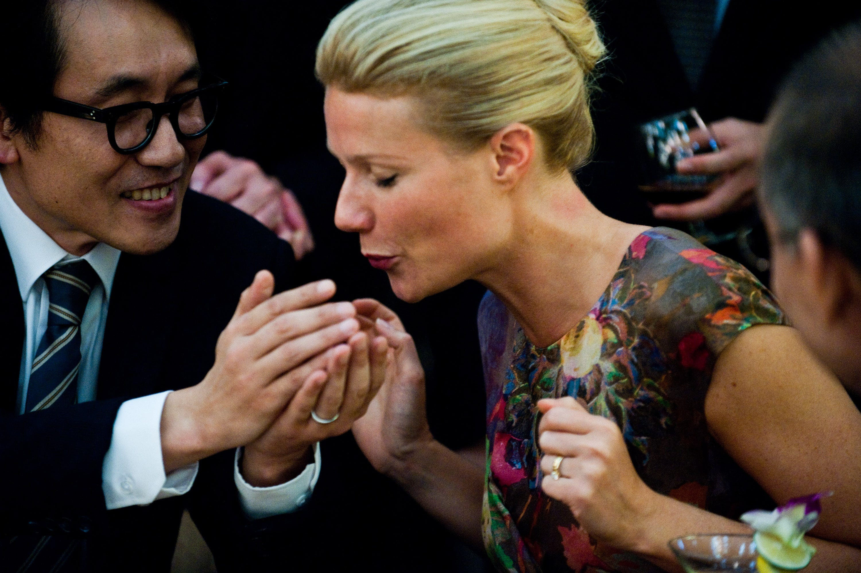 "Gwyneth Paltrow infects the entire world in ""Contagion."""