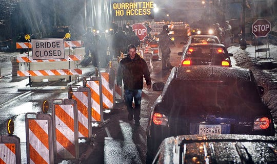 """Matt Damon appears in a scene from the motion picture """"Contagion."""""""
