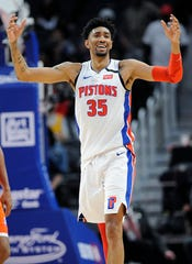 Pistons center Christian Wood's remarkable season put him in the conversation for the Most Improved Player award.