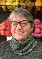 Joan Sheridan, owner of Heritage Spinning and Weaving.